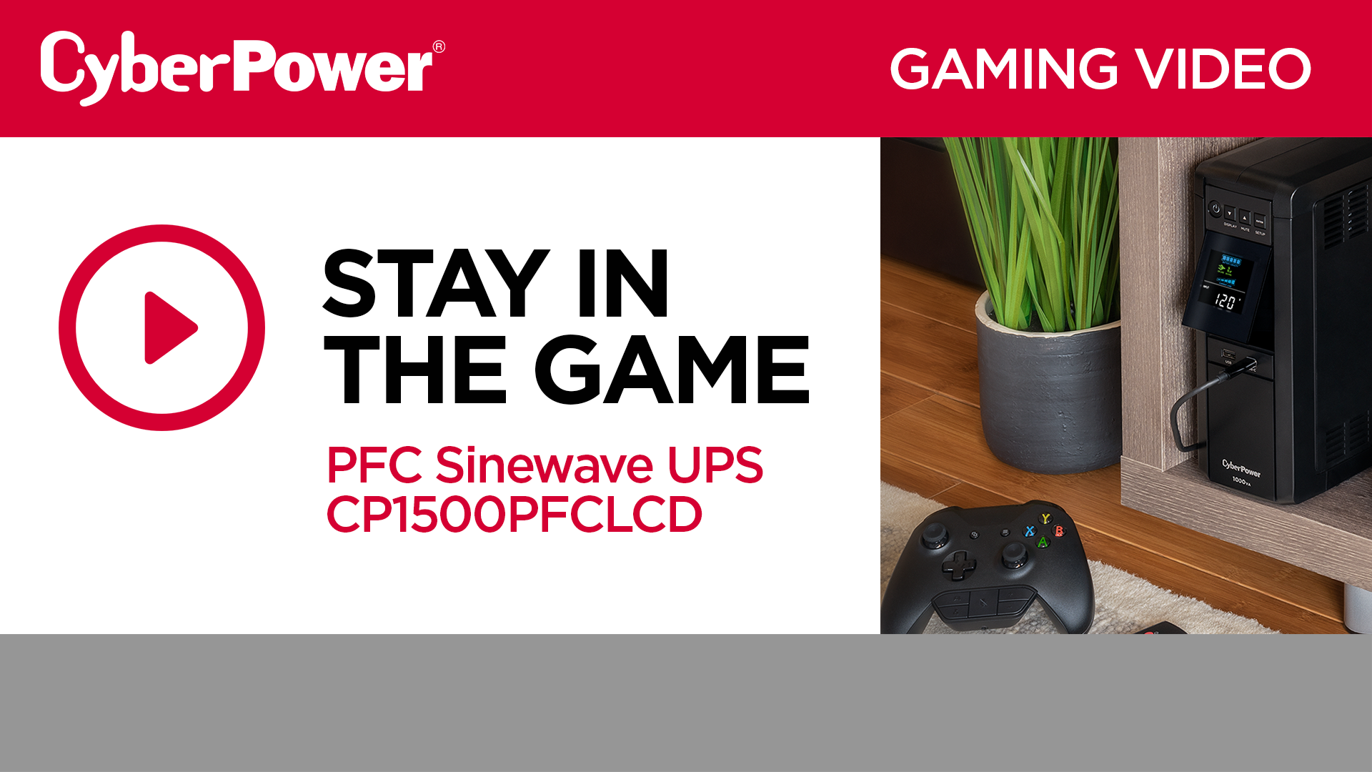 CP1500PFCLCD Gaming