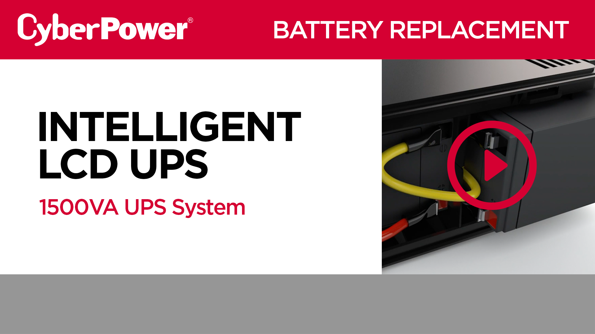 Intelligent LCD 1500VA Replacement Battery