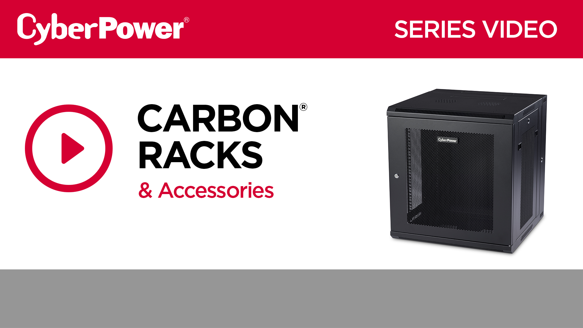 CyberPower Carbon Rack Series