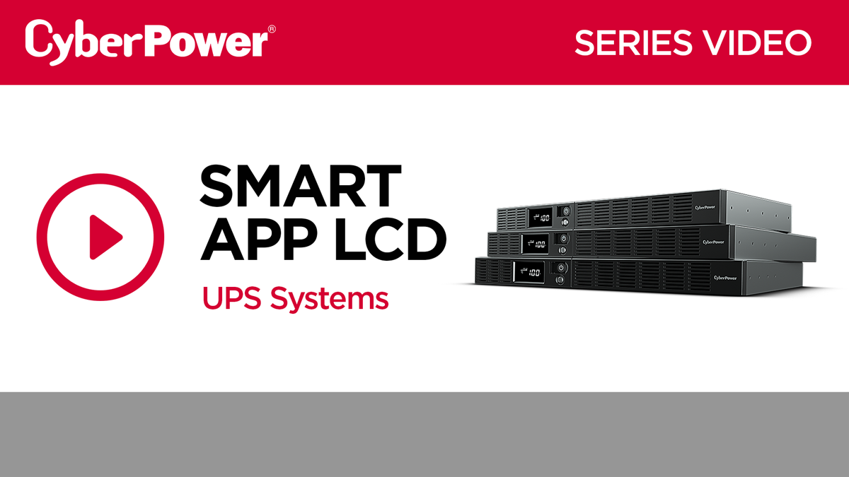 Smart App LCD Series