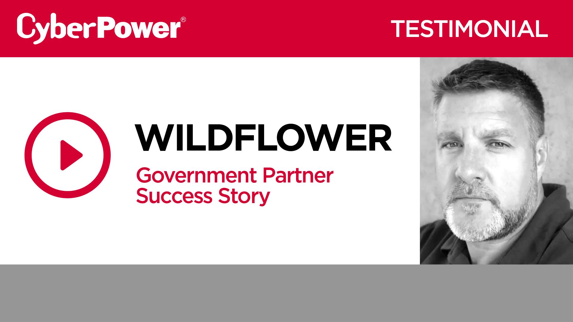 Wildflower Government Testimonial